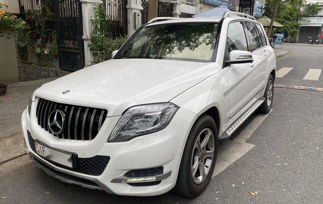 Cần bán xe Mercedes GLK 220 CDI đời 2013, màu trắng xe gia đình sử dụng0