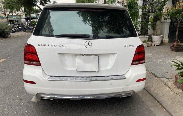 Cần bán xe Mercedes GLK 220 CDI đời 2013, màu trắng xe gia đình sử dụng3