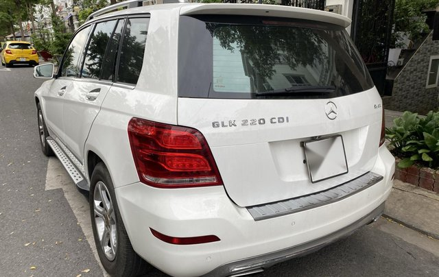 Cần bán xe Mercedes GLK 220 CDI đời 2013, màu trắng xe gia đình sử dụng4