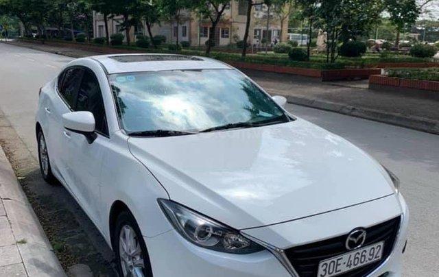 Cần bán xe Mazda 3 đời 2016, màu trắng, 519tr
