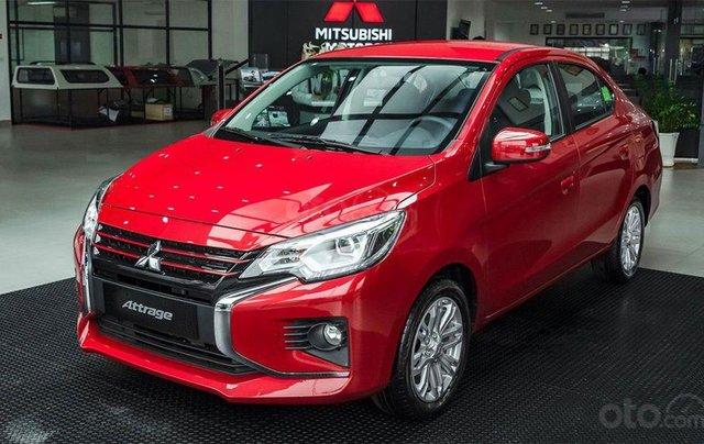 Mitsubishi Atrrage CVT 2021 giá ưu đãi tháng 6
