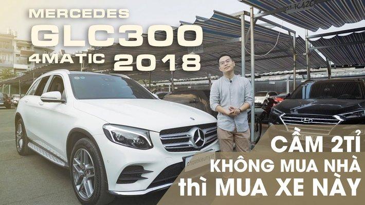 XE NGON GIÁ TỐT | MERCEDES GLC 300 4MATIC 2018 Xe mới tinh, giá tốt nhất thị trường chỉ có ở đây.