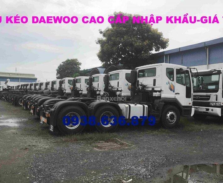 Đầu kéo Daewoo nhập khẩu chính hãng nguyên chiếc Hàn Quốc - giá tốt nhất - xe giao ngay1