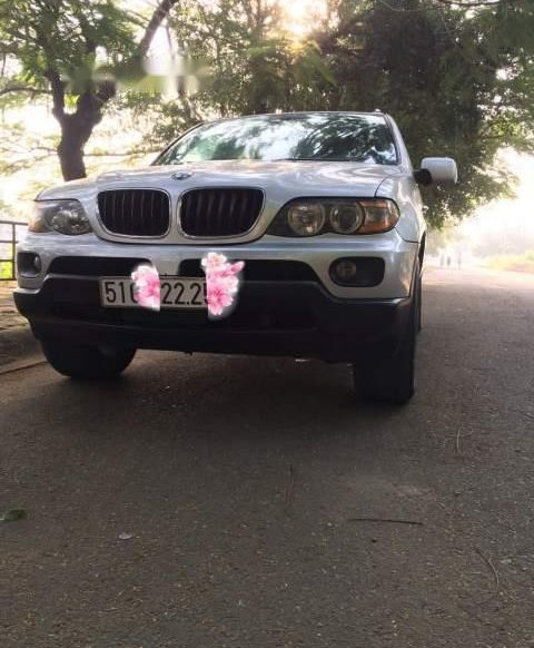 Cần bán lại xe BMW X5 đời 2007, màu bạc còn mới giá cạnh tranh0
