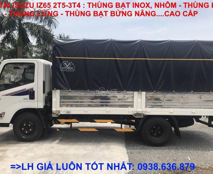 Bán xe tải Isuzu IZ65 2,5T-3,5T giá luôn tốt nhất, chỉ trả 25% nhận xe ngay, khuyến mãi hấp dẫn0