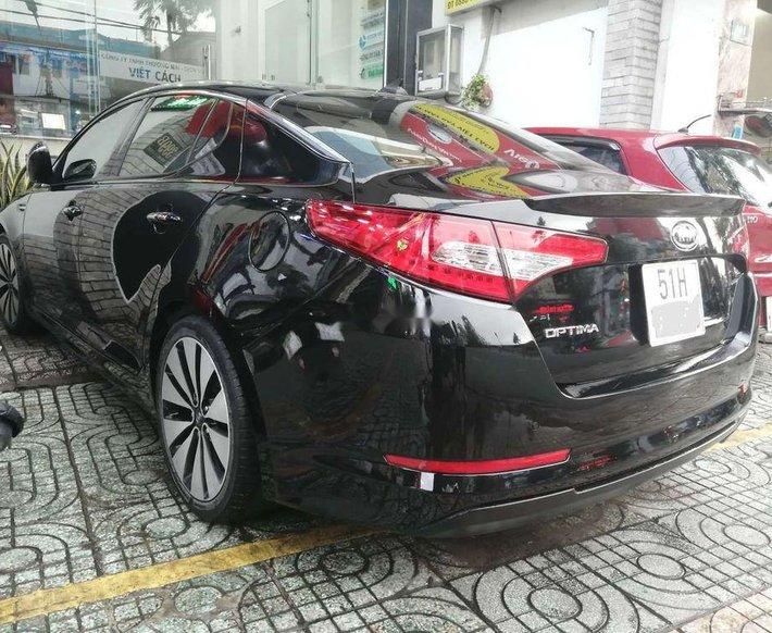 Cần bán xe Kia Optima đời 2013, màu đen, nhập khẩu 0
