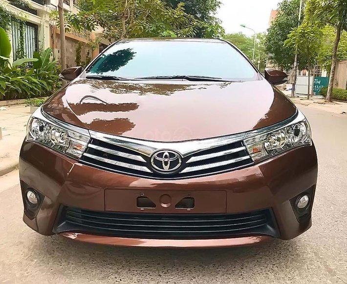 Bán ô tô Toyota Corolla Altis 1.8G 2017, màu nâu, 675tr0