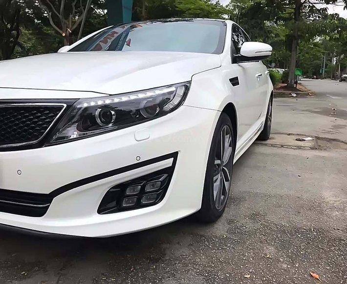 Bán Kia Optima đời 2015, màu trắng, nhập khẩu Hàn quốc chính chủ, giá tốt0