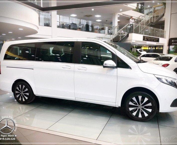 2021 New Model Mercedes-Benz V250 Luxury, xe gia đình nhập khẩu 7 chỗ - xe giao ngay - bank 80%7