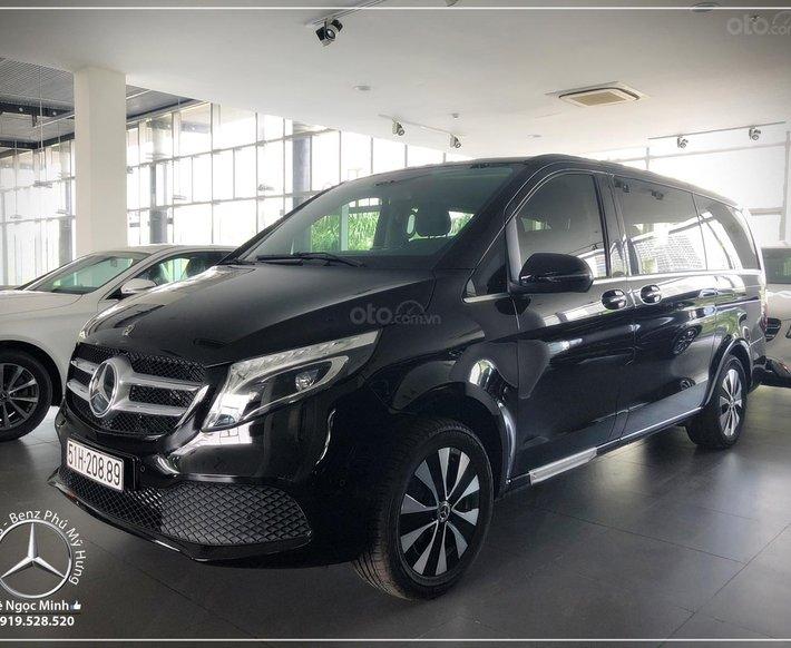2021 Mercedes-Benz V250 Luxury 7 chỗ - xe nhập khẩu - ưu đãi tốt nhất - hỗ trợ bank 80%10