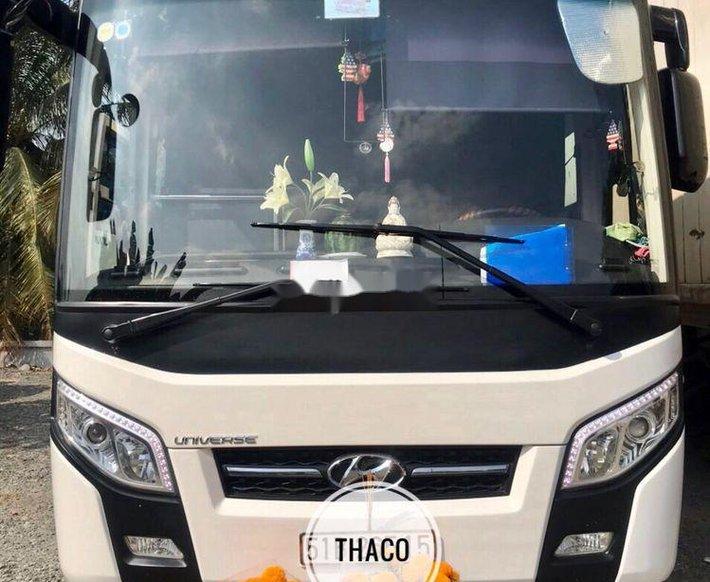 Bán gấp xe Hyundai Universe 2018, màu trắng, xe chính chủ sử dụng0