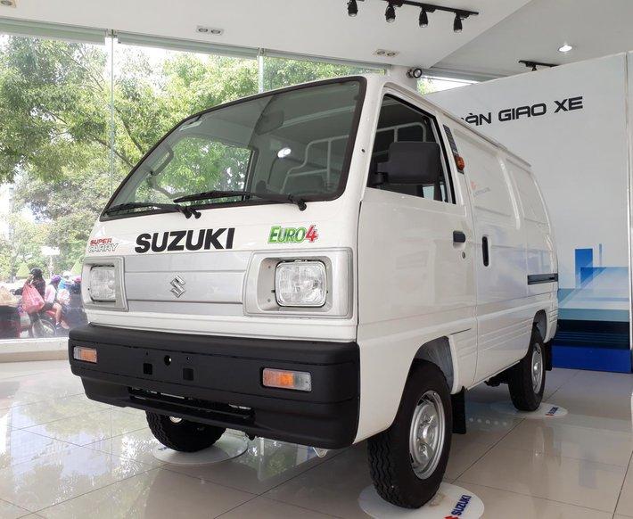 Xe tải Suzuki Blind Van 2020 chạy giờ cao điểm, giá ưu đãi 50% thuế trước bạ0