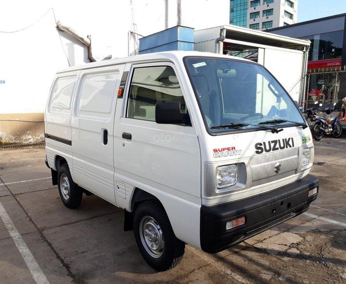 Xe bán tải Suzuki Blind Van lưu thông 24/24, ưu đãi 100% thuế trước bạ0