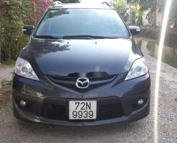 Bán xe Mazda 5 năm 2009, màu đen, xe nhập, 1 chủ mua mới0