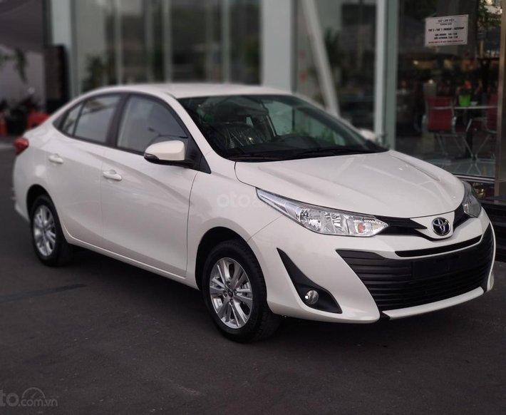 Toyota Vios 1.5E, cam kết giá tốt - cạnh tranh, trả trước 120 triệu - hỗ trợ ngân hàng - lãi suất thấp0