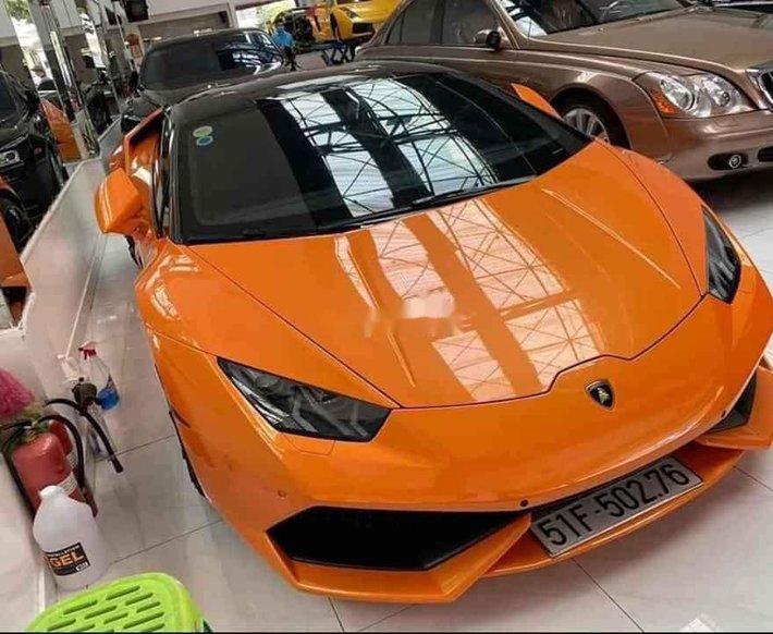 Bán Lamborghini Huracan LP610-4 đời 2014, xe nhập3