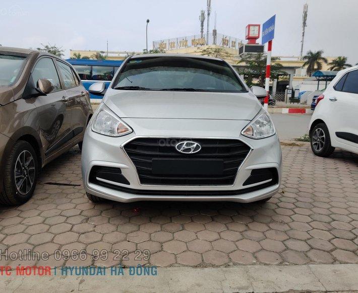 Hyundai Hà Đông - Hyundai Grand I10 2021 siêu ưu đãi tiền mặt + phụ kiện, trả góp tới 80% ngay tháng 60