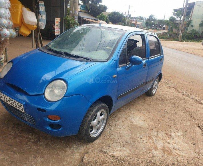 Bán ô tô Chery QQ3 0.8 MT 2009, màu xanh lam còn mới 0