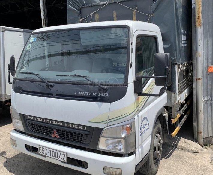 Bán xe tải Mitsubishi Fuso Cater thùng mui bạt 2016, 5 tấn0