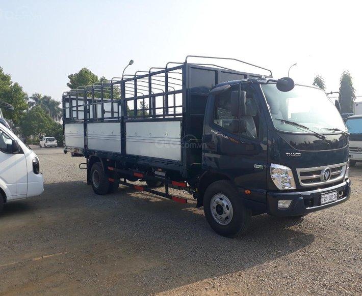 Giá xe tải Thaco Ollin720 E4 thùng mui bạt, tải trọng 7 tấn của Trường Hải0
