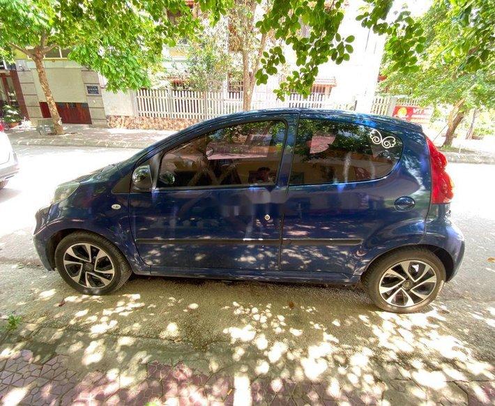 Cần bán gấp Peugeot 107 đời 2012, màu xanh lam, xe nhập còn mới2