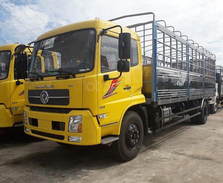 Bán xe tải Dongfeng B180 thùng dài 7m5 đời 2019 - động cơ Cummins tiêu chuẩn Euro 5 - hỗ trợ vay vốn 85% giá tốt nhất0