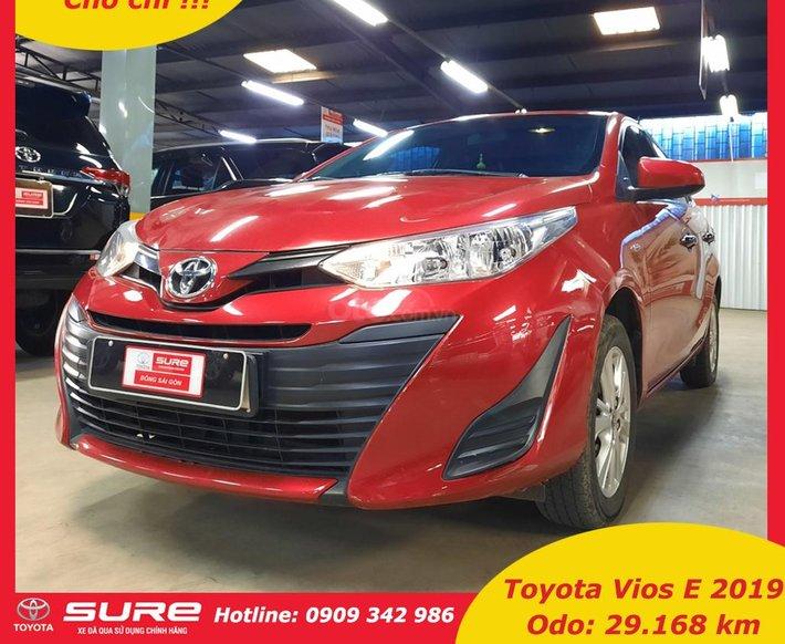 Cần bán Toyota Vios 2019 đi 29.800km, số sàn, xe đã kiểm tra 176 hạng mục, liên hệ để nhận ưu đãi tiền mặt0