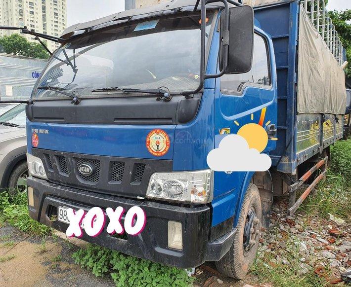 Ngân hàng bán đấu giá xe tải mui bạt Veam VT7500