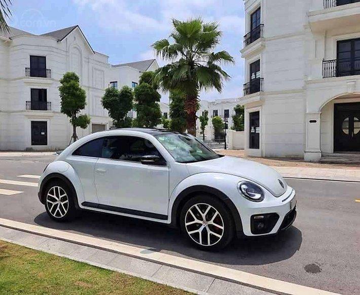 Cần bán xe Volkswagen Beetle Dune 2.0 đời 2018, màu trắng, nhập khẩu nguyên chiếc0