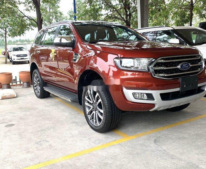 Bán ô tô Ford Everest năm 2020, màu đỏ, nhập khẩu 0