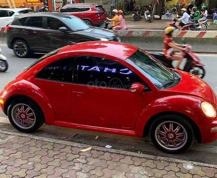 Bán Volkswagen New Beetle 2004, màu đỏ, nhập khẩu nguyên chiếc   0