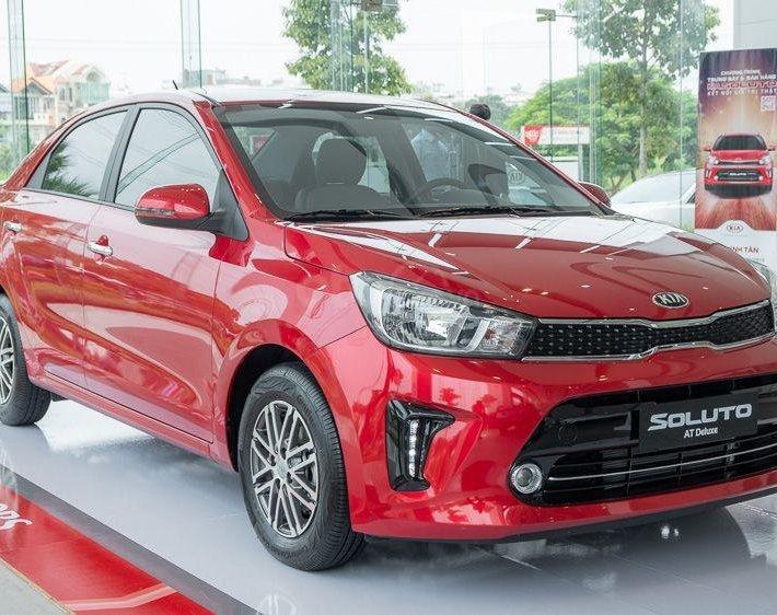 Bán gấp Kia Soluto 2020 all new - giao xe ngay đủ màu - giá tốt tháng 9 - nhiều ưu đãi kèm quà tặng khủng0