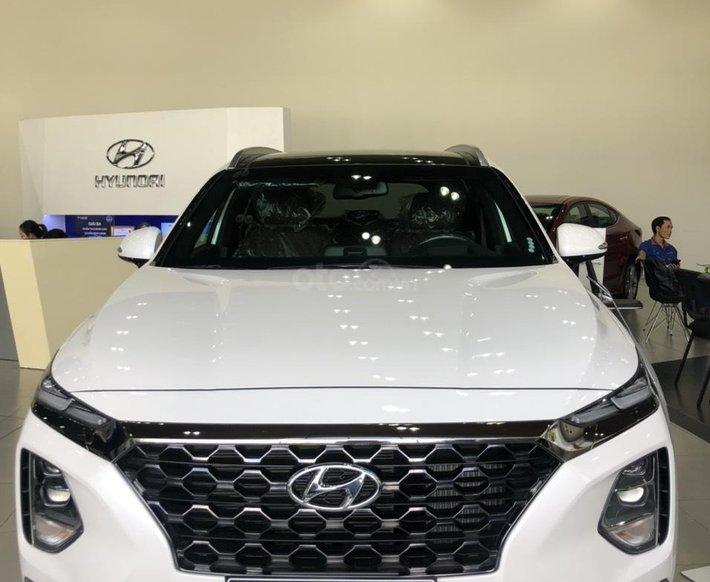 Cần bán xe Hyundai Santa Fe năm 2020- Tặng 100% thuế trước bạ0