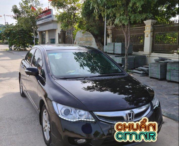 Xe Honda Civic đăng ký 2007, màu đen, ít sử dụng, giá 265 triệu đồng0