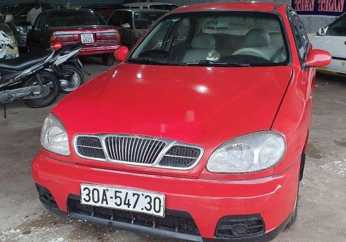 Bán xe Daewoo Lanos năm sản xuất 2000, màu đỏ0