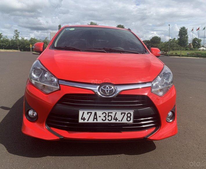 Bán xe Toyota Wigo 1.2 AT 2019, màu đỏ 0