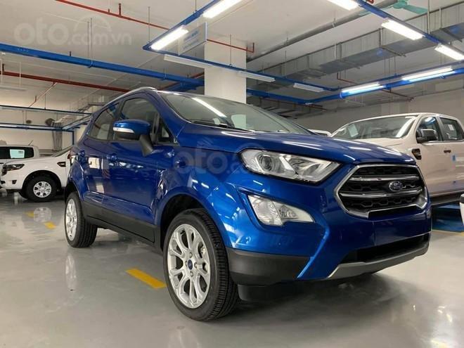 Ford EcoSport model 2021 nấng cấp hiện đại - Khuyến mãi cực VIP0