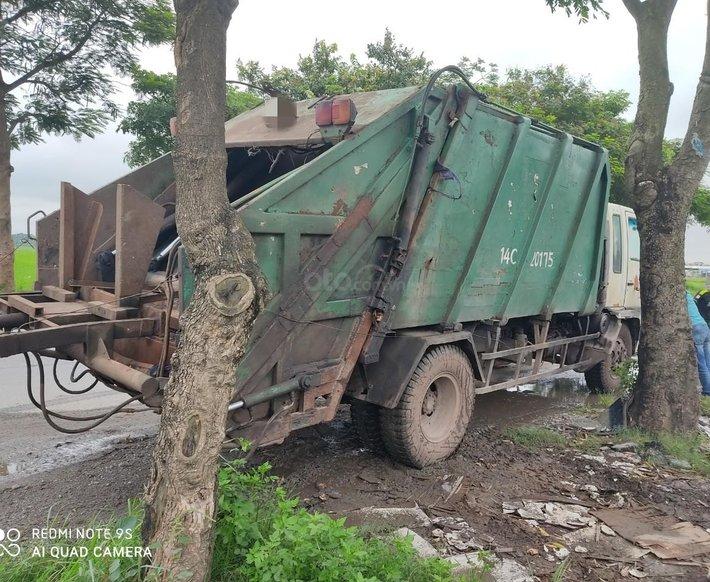 Bán xe cuốn ép rác cũ Hino, đời 2002, 14 khối1
