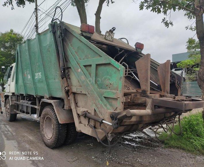 Bán xe cuốn ép rác cũ Hino, đời 2002, 14 khối2