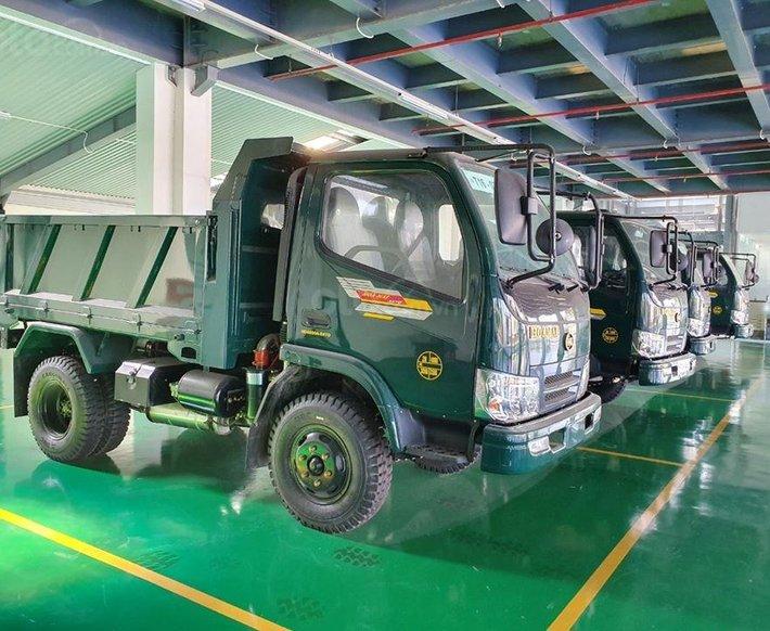 Bắc Ninh Bán xe Hoa Mai ben 3 tấn, giá khuyến mại tháng 10 năm 20201