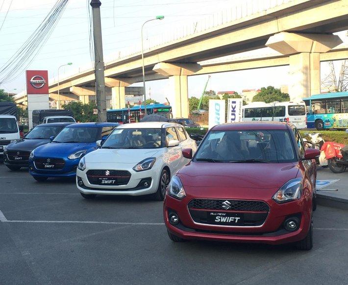 Suzuki Swift 2020, nhập khẩu Thái Lan, KM lớn0
