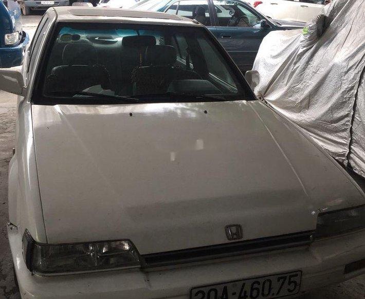 Cần bán xe Honda Accord đời 1989, màu trắng, nhập khẩu nguyên chiếc, 22tr0