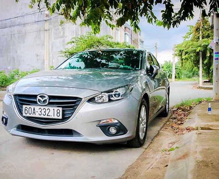 Bán xe Mazda 3 sản xuất 2016, màu bạc còn mới, 485 triệu0
