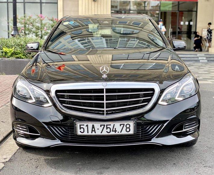Cần bán lại xe Mercedes-Benz E class đăng ký lần đầu 2014, màu đen còn mới. Giá tốt 1 tỷ 180 triệu đồng0