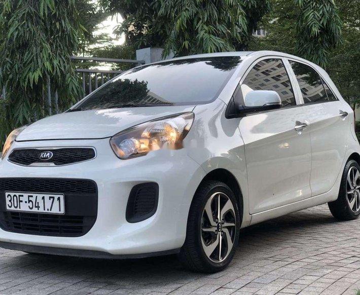 Cần bán xe Kia Morning sản xuất 2019, màu trắng, nhập khẩu nguyên chiếc chính chủ0
