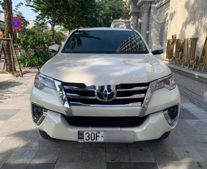 Bán Toyota Fortuner sản xuất 2017, nhập khẩu còn mới, giá 868tr0