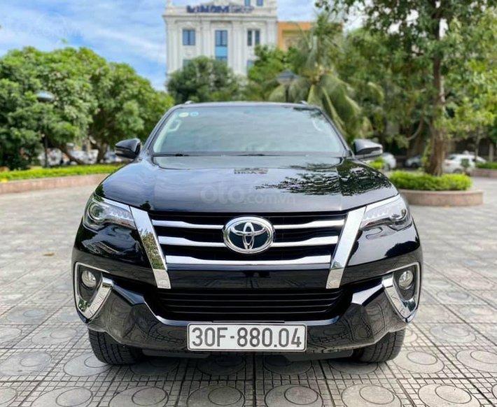 Hỗ trợ mua xe trả góp lãi suất thấp với chiếc Toyota Fortuner đời 2019, xe còn mới0