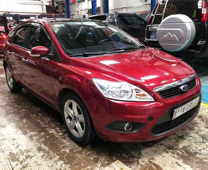 Cần bán lại xe Ford Focus năm sản xuất 2011, màu đỏ còn mới, 340 triệu0