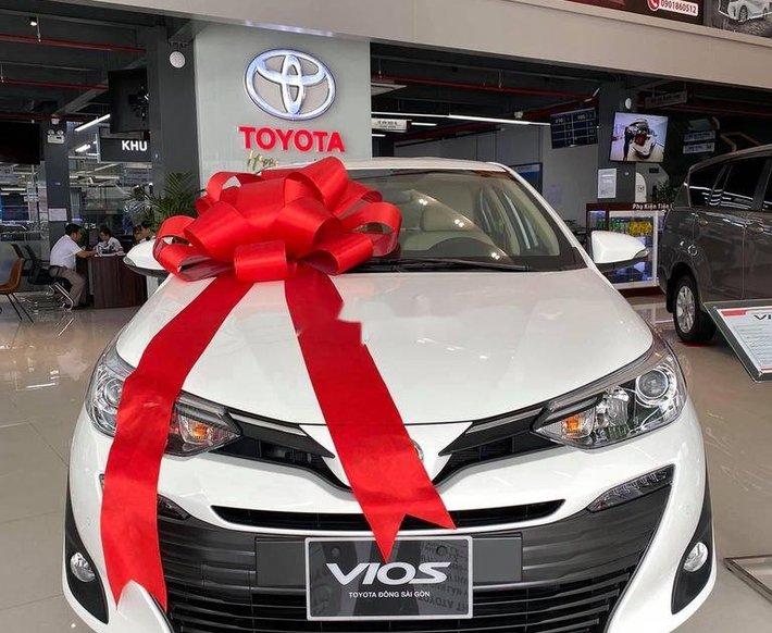 Bán ô tô Toyota Vios đời 2020, màu trắng, giá 455tr0