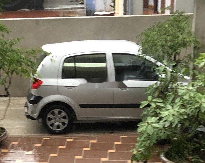 Bán xe Hyundai Getz đời 2008, màu bạc0